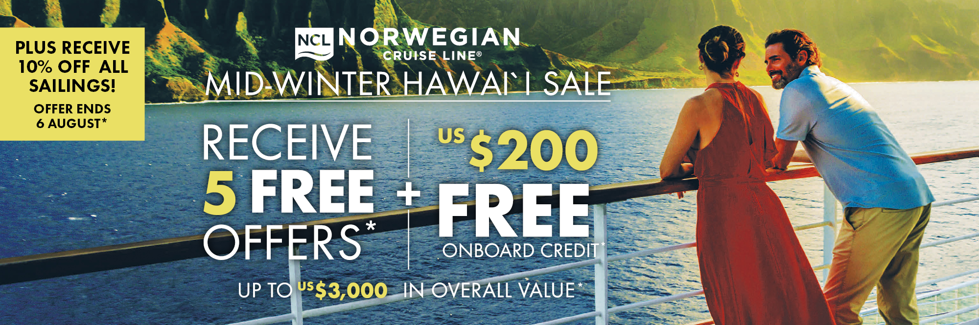 NCL's Mid Winter Hawai'i Sale – Newcastle Cruise Sale Day